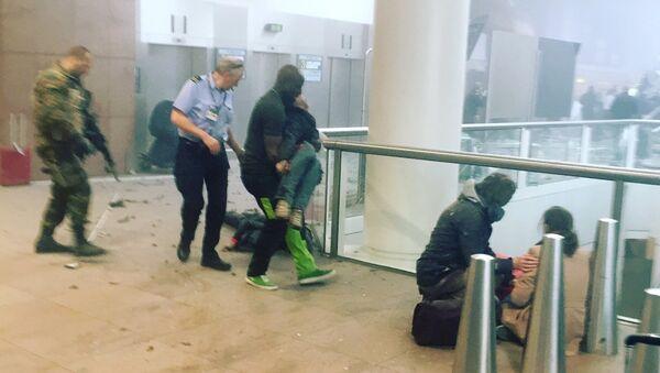 Explosion à l'aéroport de Bruxelles - Sputnik France