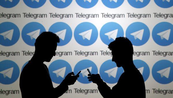 L'application Telegram - Sputnik France
