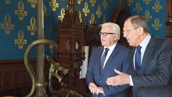 Встреча глав МИД РФ и Германии С. Лаврова и Ф. Штайнмайера - Sputnik France