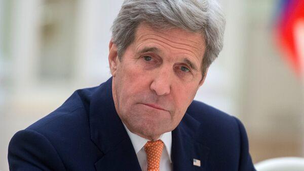 le secrétaire d'Etat américain John Kerry - Sputnik France
