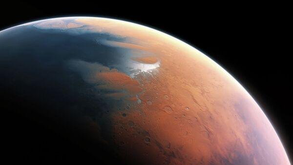 Artist's impression of Mars four billion years ago - Sputnik France