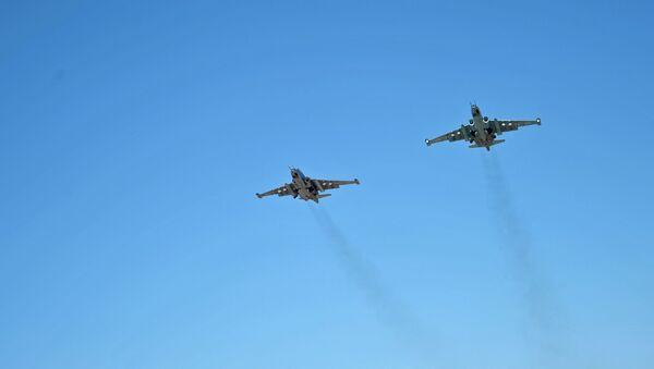 Российская боевая авиация на авиабазе Хмеймим в Сирии - Sputnik France