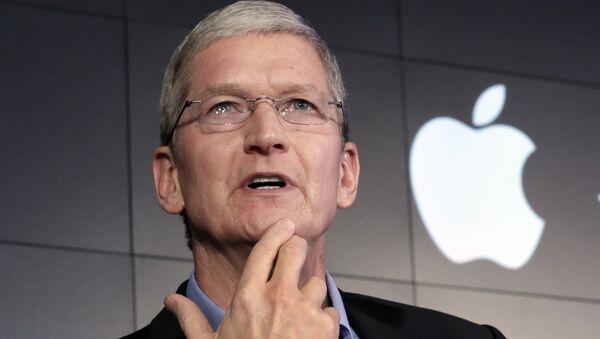 le PDG d'Apple,Tim Cook - Sputnik France