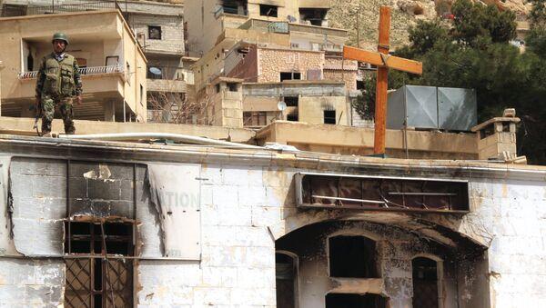 La situation dans la ville syrienne de Maaloula - Sputnik France