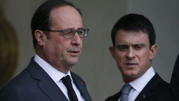Manuel Valls et François Hollande - Sputnik France