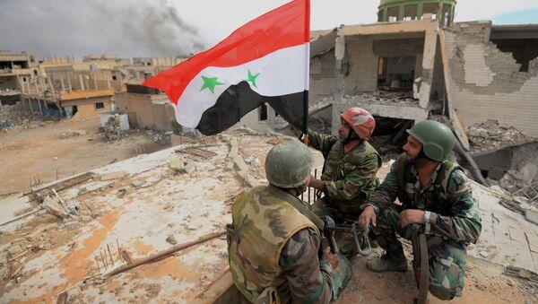 Des soldats de l'armée syrienne à Palmyre - Sputnik France