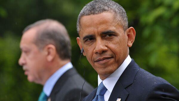 Barack Obama and Recep Tayyip Erdogan - Sputnik France