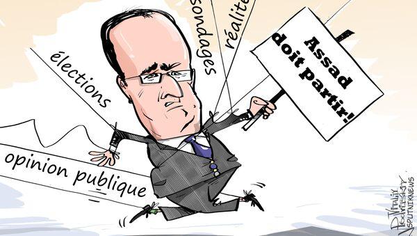 Vote Du Jour: les Français prônent la reprise du dialogue avec Assad - Sputnik France