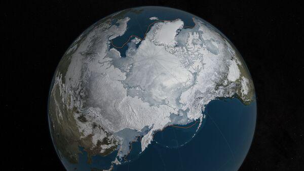 Les glaces arctiques en mars 2016 - Sputnik France