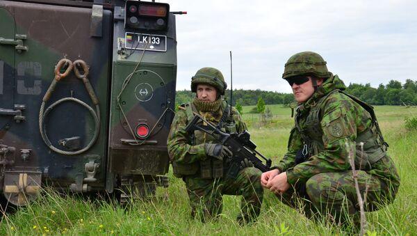 Des soldats lituaniens - Sputnik France
