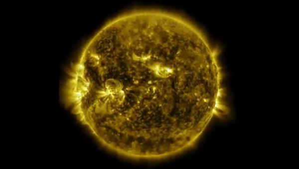 Un an de vie du soleil - Sputnik France
