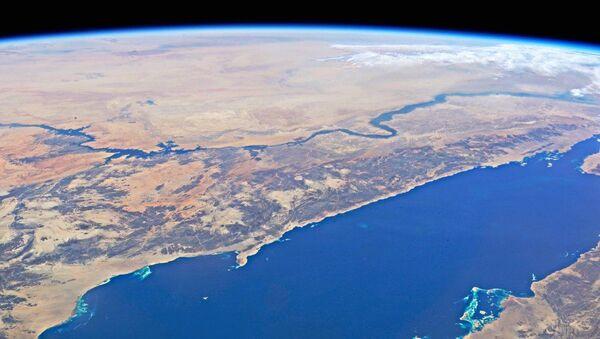 Красное море и река Нил с высоты МКС - Sputnik France