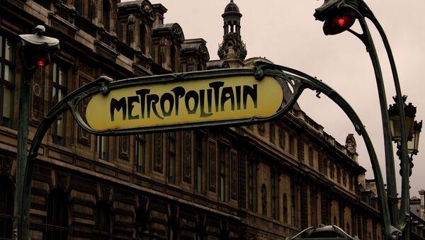 Paris. Au Métro Palais Royal - Musée du Louvre. - Sputnik France