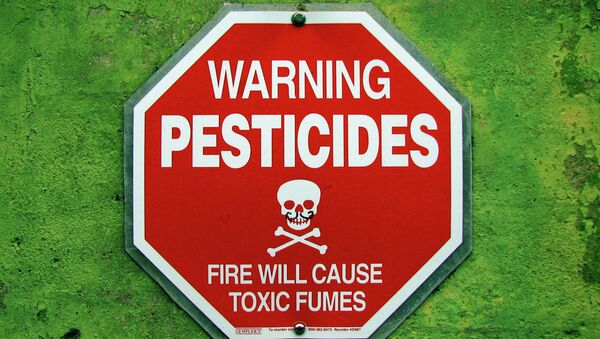 While the family was staying at a second floor condo, the pesticide company, Terminix, fumigated the lower unit. - Sputnik France