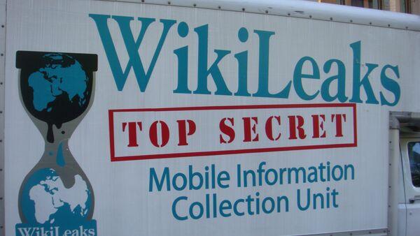 Wikileaks Van - Sputnik France