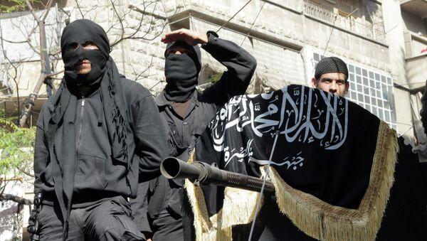 Les membres du Front al-Nosra - Sputnik France