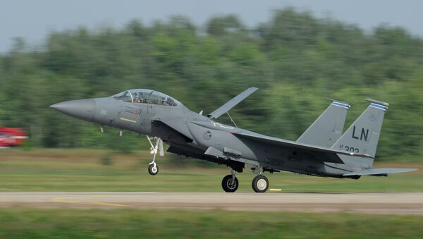 Un McDonnell Douglas F-15 Eagle - Sputnik France