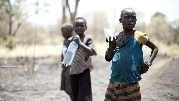 Les enfants en Afrique. Image d'illustration - Sputnik France
