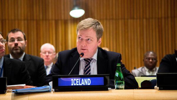 Sigmundur Davíð Gunnlaugsson, Prime Minister of Iceland - Sputnik France