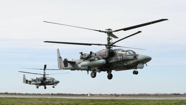 Les hélicoptères Ka-52 Alligator multirôles tous temps - Sputnik France