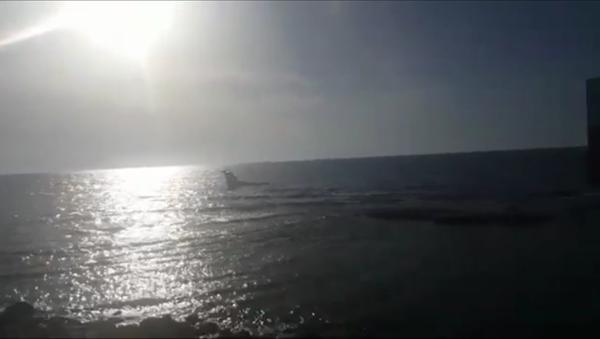 Un avion atterrit sur la mer - Sputnik France