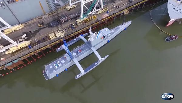 Les USA testent un nouveau drone anti-sous-marin - Sputnik France