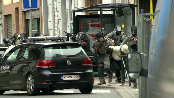 Interpellation de Salah Abdeslam par la police belge, le 18 mars 2016 - Sputnik France