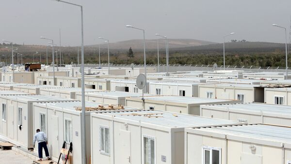 un complexe pour réfugiés syriens - Sputnik France