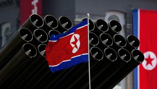 Le drapeau nord-coréen - Sputnik France