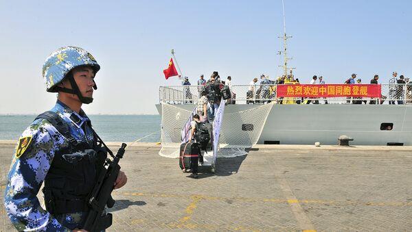 L'armée chinoise prend position sur la côte africaine - Sputnik France