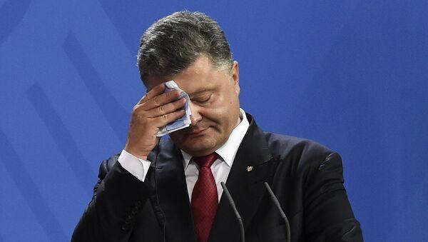 Ukrainian President Petro Poroshenko - Sputnik France