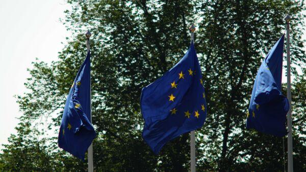 Les drapeaux de l'Union européenne - Sputnik France
