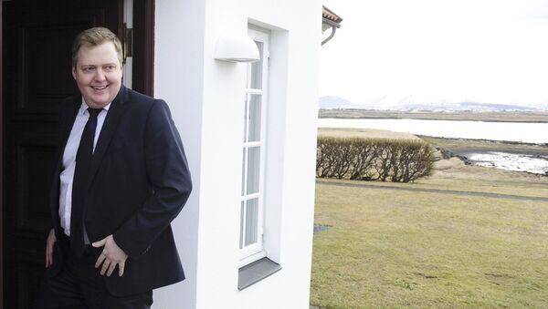 Le premier ministre islandais Sigmundur David Gunnlaugsson - Sputnik France