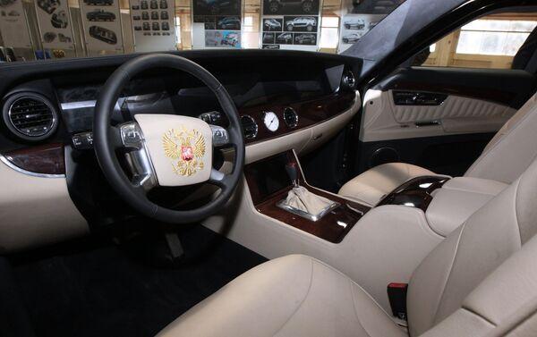 L'intérieur de la limousine - Sputnik France