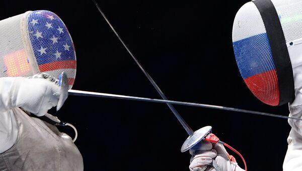 L'escrime, image d'illustration - Sputnik France