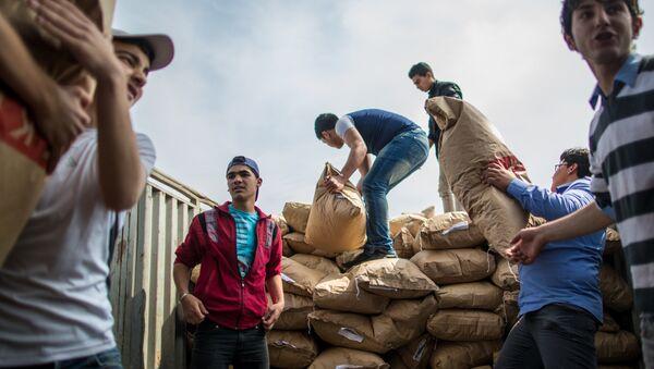 Aide humanitaire russe. Photo d'archive - Sputnik France