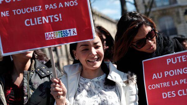 protestation contre nouveaux projet de loi - Sputnik France