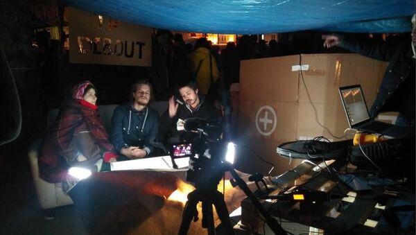 «Nuit Debout» lance une radio - Sputnik France