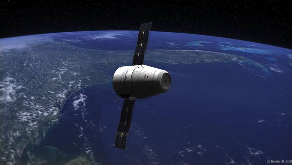 Capsule Dragon - Sputnik France