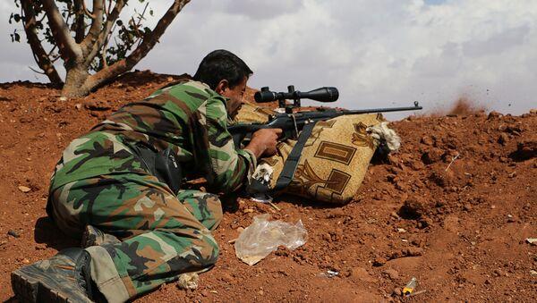 Un combattant de l'Armée syrienne libre (ASL) - Sputnik France