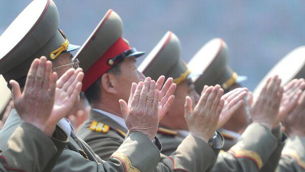 Militaires nord-coréens - Sputnik France
