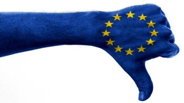 Zwölf Sterne auf blauem Grund (Symbolbild für die EU) - Sputnik France