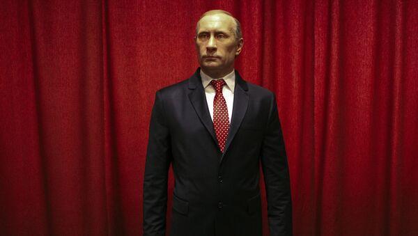 La statue en cire de Vladimir Poutine dans le musée de la ville serbe Jagodina - Sputnik France