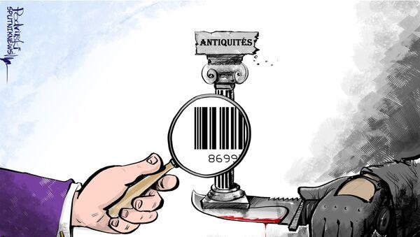 Gaziantep, plaque tournante du trafic d'antiquités syriennes - Sputnik France