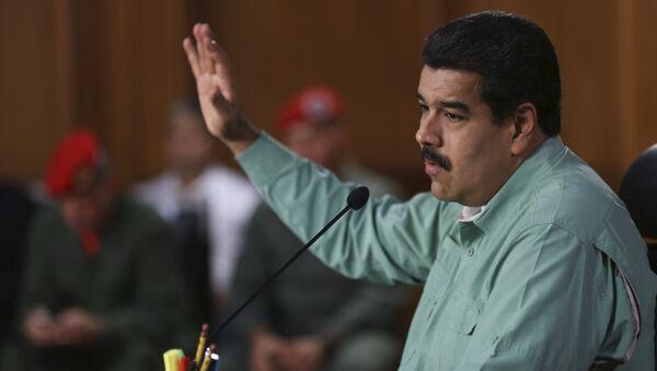 Nicolas Maduro, président du Venezuela - Sputnik France