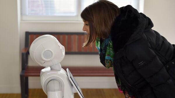 Le robot Pepper - Sputnik France