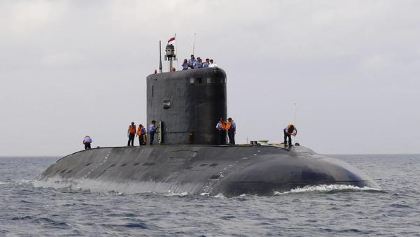 Le sous-marin nucléaire Arihant - Sputnik France