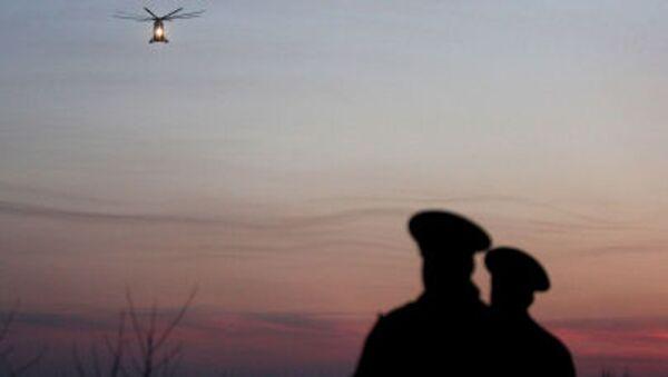 Un hélicoptère transportant les victimes du crash à Smolensk - Sputnik France