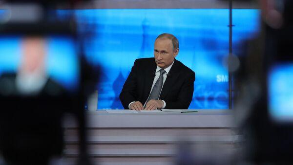 Direct Line with Vladimir Putin - Sputnik France