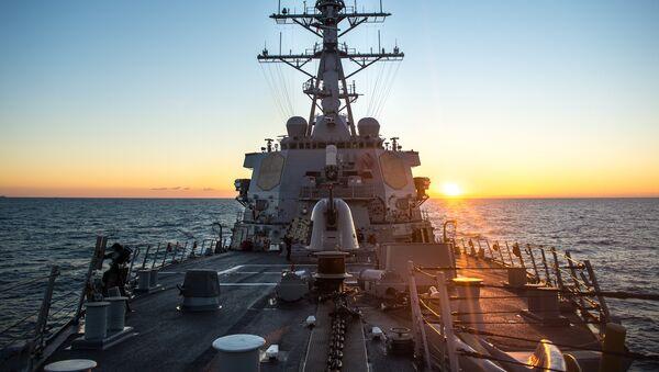 USS Donald Cook en el mar Mediterráneo - Sputnik France